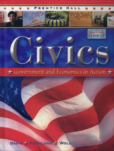 9780131335493: PRENTICE HALL CIVICS STUDENT EDITION THIRD EDITION REVISED 2007C