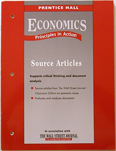 9780131335738: Prentice Hall Economics Principles in Action Source Articles ISBN 9780131335738