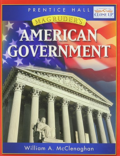 MAGRUDER' S AMERICAN GOVERNMENT (Magruder's American Government): William A. McClenaghan