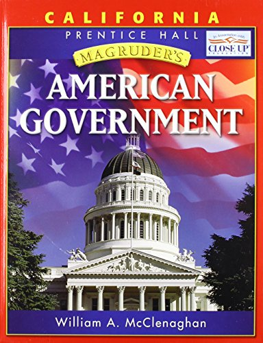 9780131335790 magruder s american government california edition rh abebooks com American Government Book Prentice Hall American Government Notes