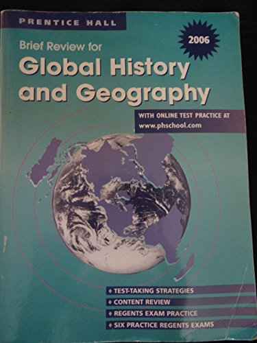 9780131335899: 2006 Brief Review in Global History and Geography