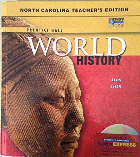 9780131337015: Prentice Hall World History - North Carolina Teacher's Edition