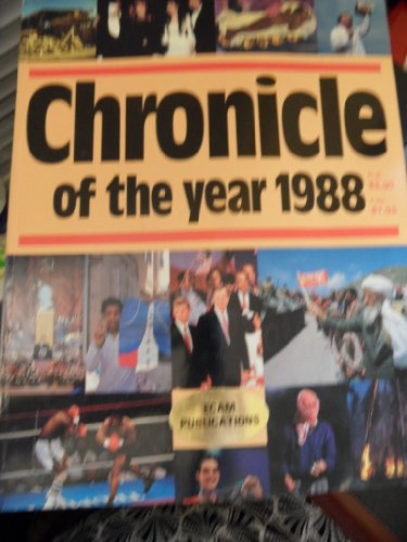 9780131337374: Chronicle of the Year 1988