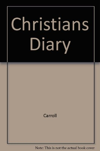9780131338012: Christians Diary (Steeple books)