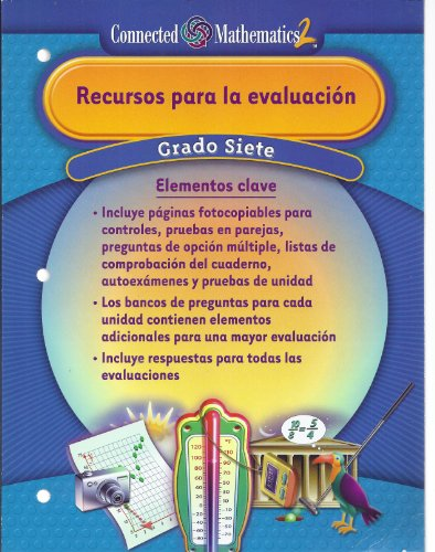9780131338432: Recursos para la evaluación (Cnnected Mathematics 2, Grado Siete)