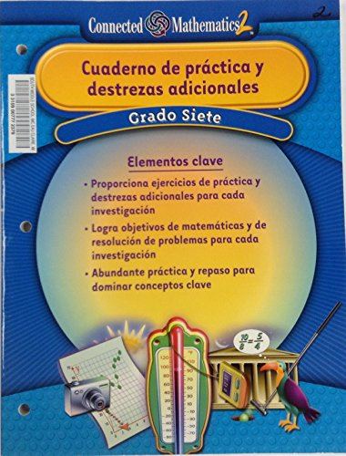 9780131338470: PRENTICE HALL CONNECTED MATHEMATICS SPANISH GRADE 7 ADDITIONAL PRACTICE WORKBOOK 2006C