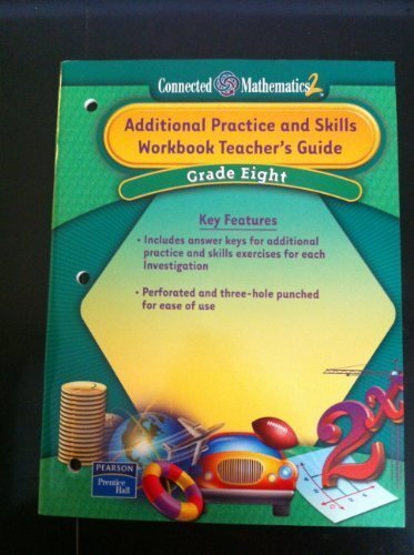 9780131338920: Additional Practice and Skills Workbook, Teacher's Guide (Grade 8) Connected Mathematics 2