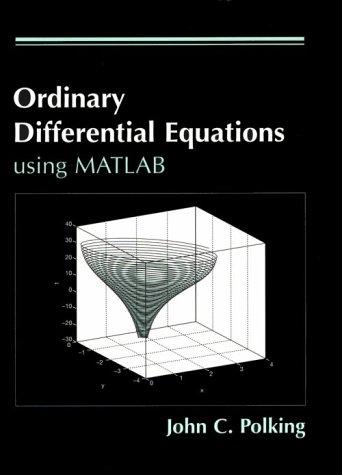 9780131339446: Ordinary Differential Equations: Using Matlab (MATLAB Curriculum Series)
