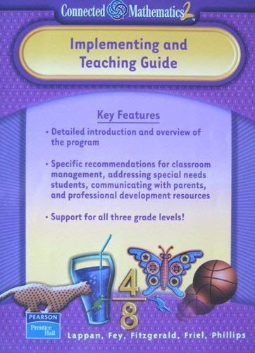 Connected Mathematics 2: Implementing and Teaching Guide: Lappan, Glenda