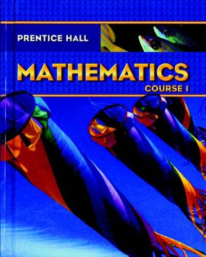 9780131339903: PRENTICE HALL MATH COURSE 1 STUDENT EDITION