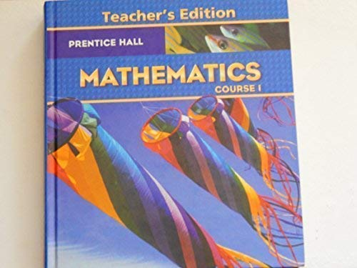 9780131339996: Prentice Hall Mathematics Course 1 Teacher's Edition