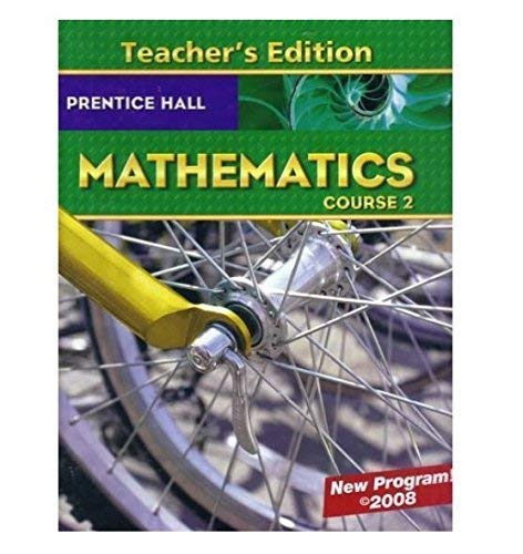 9780131340015: Prentice Hall Mathematics Course 2, Teacher Edition