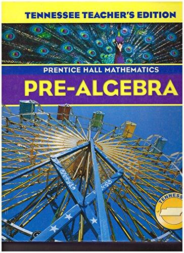 9780131340039: Pre-Algebra, Teacher's Edition (Prentice Hall Mathematics)