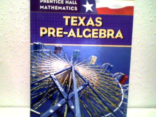 9780131340206: Prentice Hall Mathematics Texas Pre-algebra