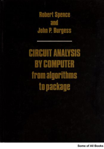 9780131340244: Circuit Analysis by Computer: From Algorithm to Package