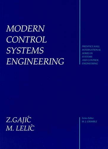9780131341166: Modern Control Systems Engineering (Prentice-Hall International Series in Systems & Control Engineering)