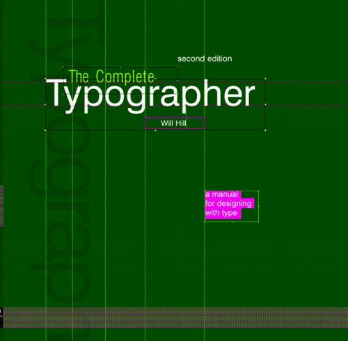 9780131344457: Complete Typographer: A Manual for Designing with Type, 2nd Edition