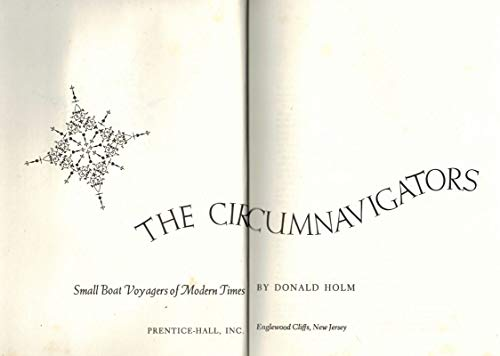 9780131344525: The Circumnavigators: small boat voyagers of modern times