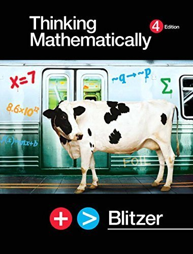 9780131346789: Thinking Mathematically