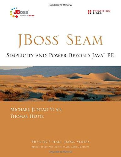 9780131347960: JBoss Seam: Simplicity and Power Beyond Java EE (Prentice Hall JBoss)