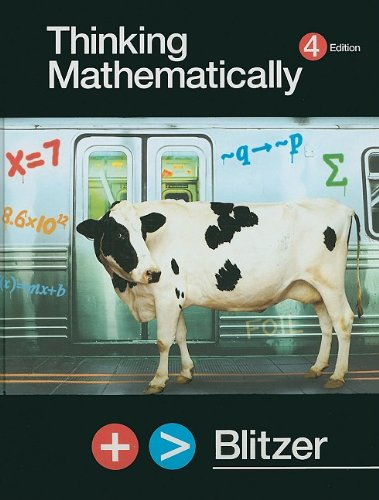 9780131348684: Thinking Mathematically plus MyMathLab Student Access Kit (4th Edition)