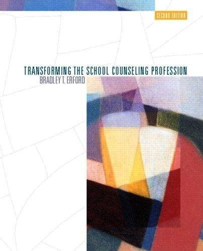 9780131349346: Transforming the School Counseling Profession [With Paperback Book]
