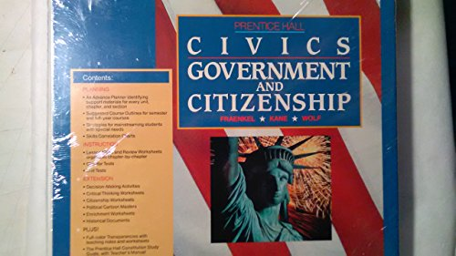 9780131351042: Teacher's Guide and Resource Book (CIVICS Government and Citizenship)