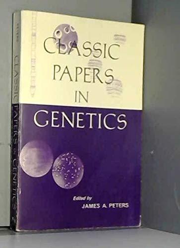 9780131351783: Classic Papers in Genetics