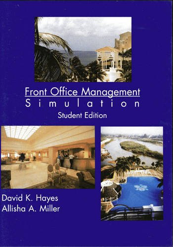 9780131352315: Simulation Student CD for Professional Front Office Management (FOMS)