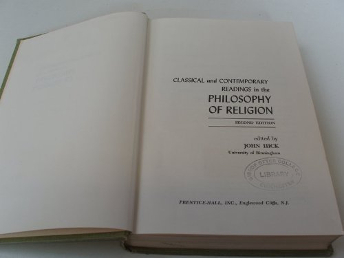 9780131352698: Classical and Contemporary Readings in the Philosophy of Religion