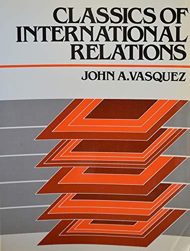9780131353367: Classics of international relations