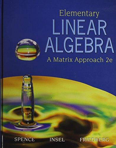 9780131353978: Elementary Linear Algebra with Student Solution Manual (2nd Edition)