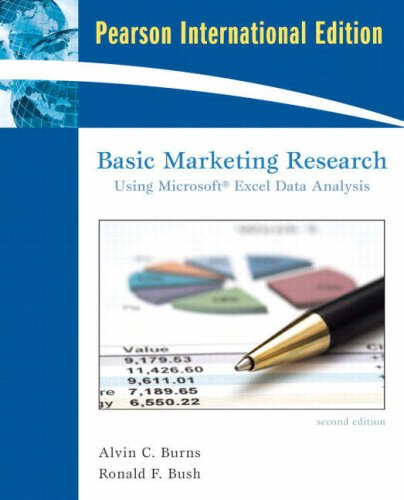 9780131354210: Basic Marketing Research: Using Microsoft Excel Data Analysis