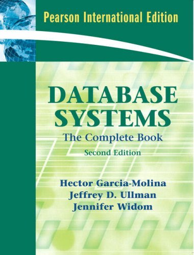 9780131354289: Database Systems: The Complete Book: International Edition