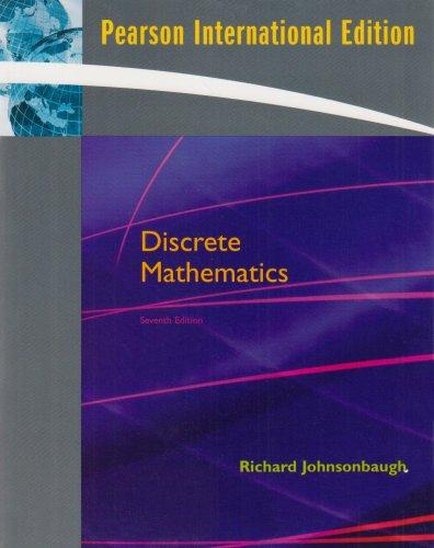 9780131354302: Discrete Mathematics: International Version