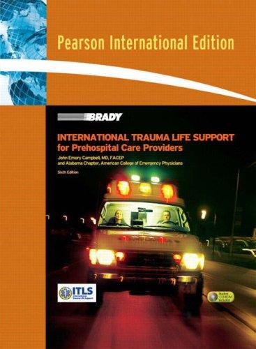 9780131354494: International Trauma Life Support: International Edition