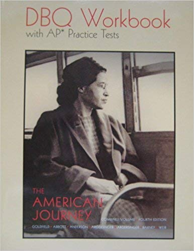 9780131354586: The American Journey: Combined Volume: Fourth Edition: DBQ Workbook with AP Practice Tests