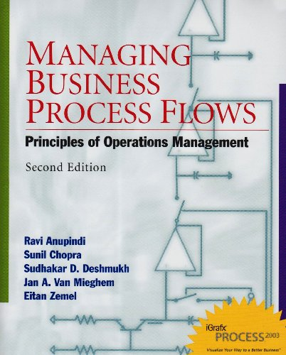9780131354852: Managing Business Process Flows: Principles of Operations Management