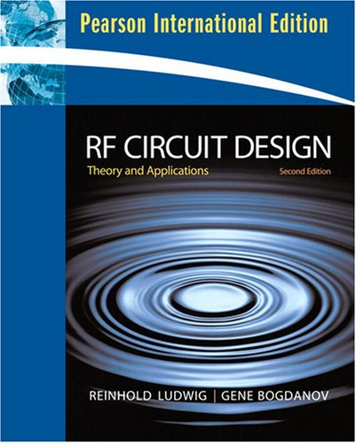 9780131355057: RF Circuit Design: International Version: Theory and Applications