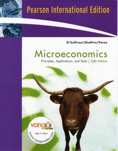 9780131355118: Microeconomics: Principles, Applications, and Tools