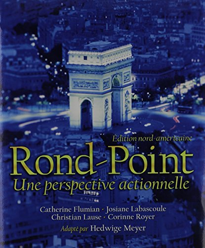 9780131355125: Rond-Point: Édition nord-américaine with Audio CD and Workbook/Lab Manual
