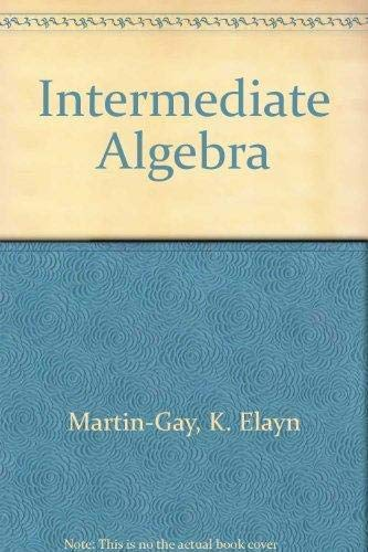 9780131355163: Intermediate Algebra