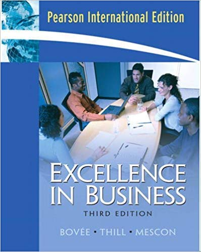 9780131355385: Excellence in Business