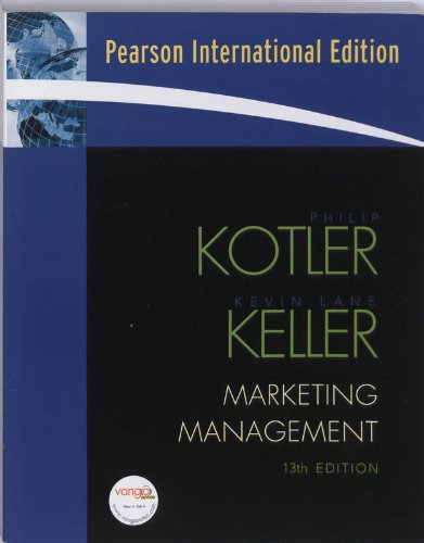 9780131357976: MARKETING MANAGEMENT: International Edition