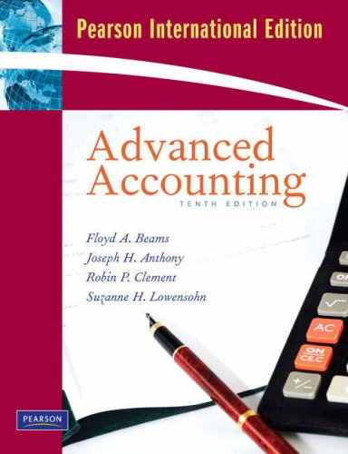 Advanced Accounting: International Version: Beams, Floyd A.
