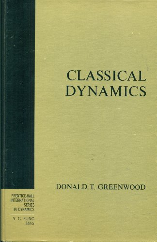 9780131360365: Classical Dynamics (International Series in Dynamics)