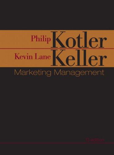 9780131361300: Marketing Management + Marketing Plan Pro 6.0