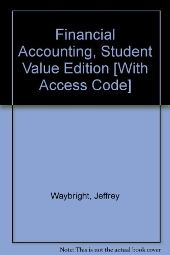 9780131362031: Financial Accounting, Student Value Edition and MyAccountingLab Student Access Code Card Package