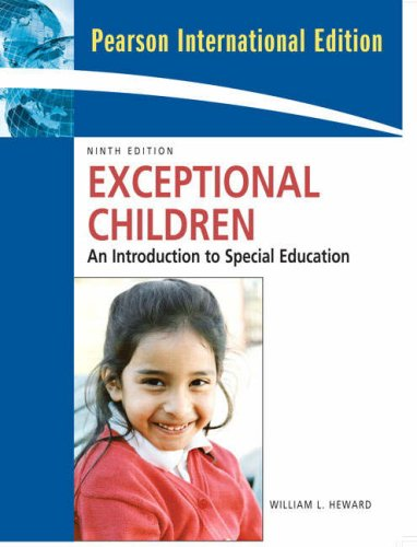 9780131362871: Exceptional Children: An Introduction to Special Education