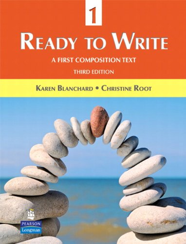 9780131363304: Ready to Write 1: A First Composition Text (3rd Edition)